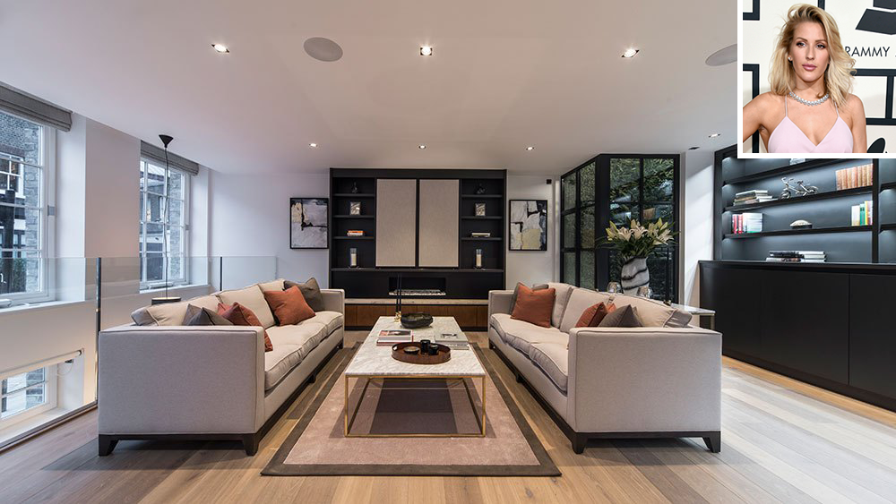 Ellie Goulding and Her London Townhouse