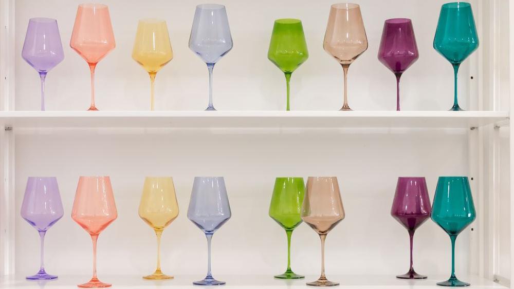 Estelle Glassware Wine Glass Set