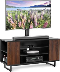 FITUEYES Media Console with TV Mount