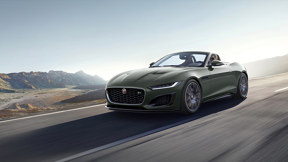 2021 Jaguar F-Type Heritage Edition 60 convertible