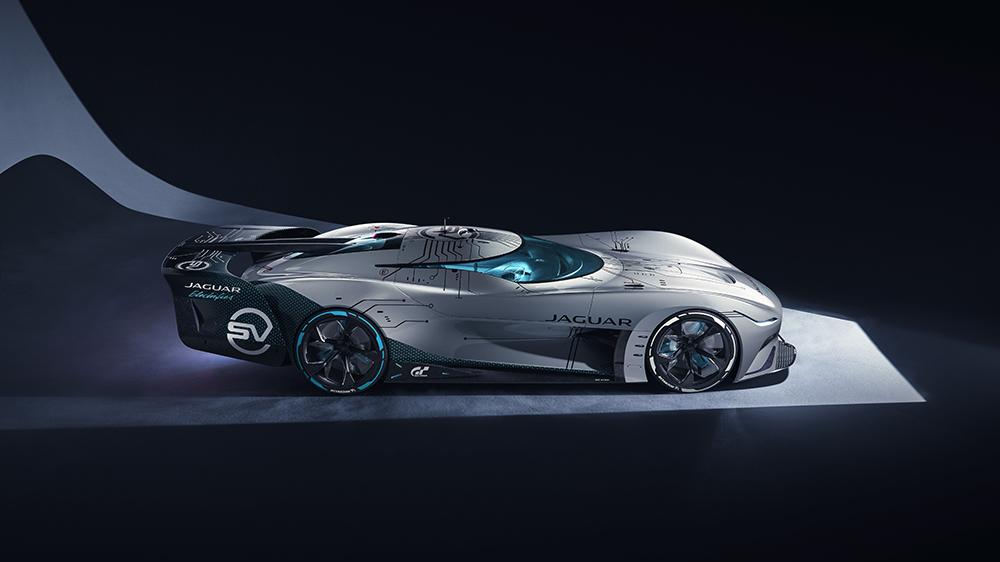 The Jaguar Vision Gran Turismo SV