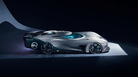 The Jaguar Vision Gran Turismo SV