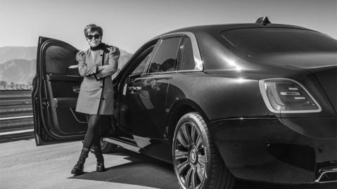 Kris Jenner and her 2021 Rolls-Royce Ghost