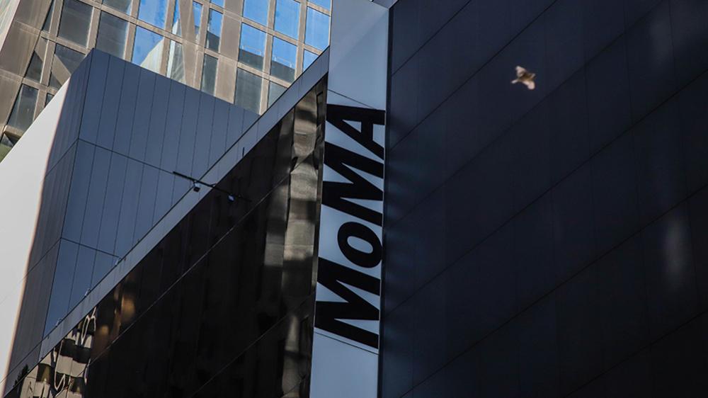 L'un des musées d'art les plus renommés au monde et l'une des plus grandes attractions touristiques de New York après un surpeuplement constant après quatre mois d'expansion, annonce la réouverture des données pour le 21 octobreMoMA Museum, New York, États-Unis - 15 octobre 2019