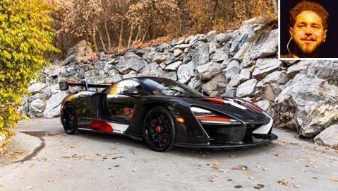 "Post Malone's 2019 McLaren Senna XP ""Master of Monaco"""