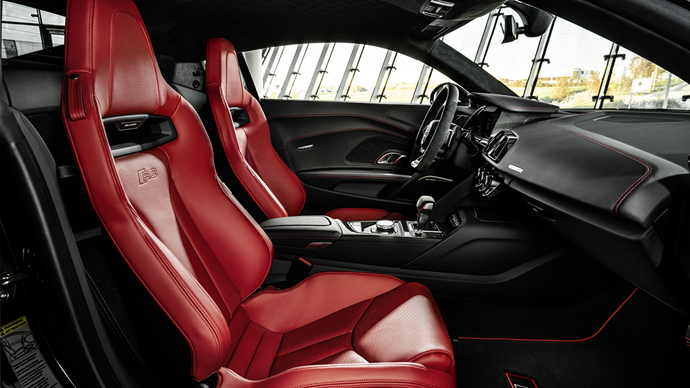 Inside the 2021 Audi R8 RWD Panther Edition