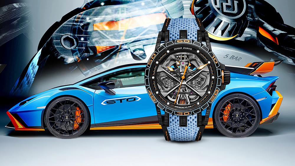 Roger Dubuis x Lamborghini Excalibur Huracán STO