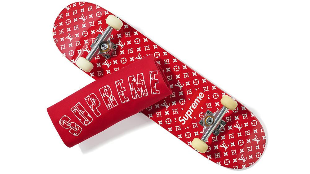 Supreme Louis Vuitton Skateboard