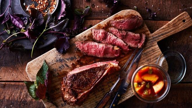Holy Grail Steak Co. wagyu strip