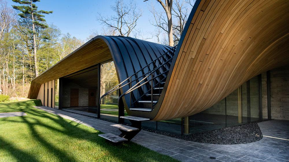 Fold House, Design, Ontario, Home