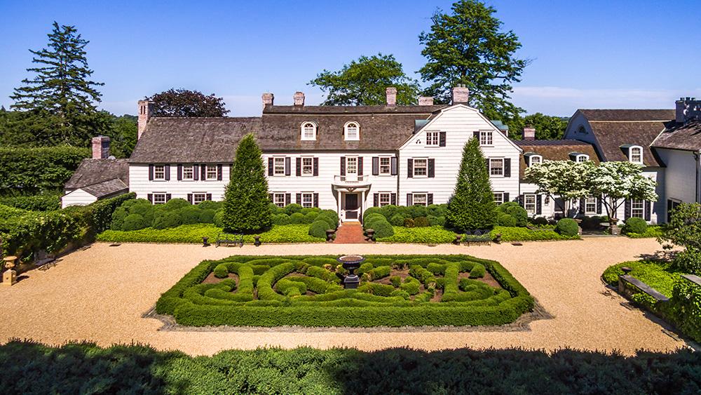 Susie Hilfiger's - Greenwich estate.