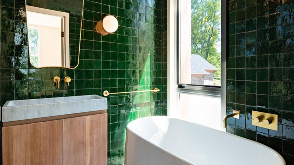 Bathroom, Design, Fold House