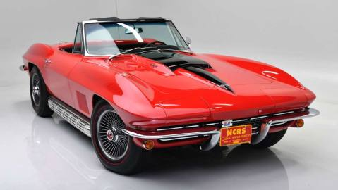 This 1967 Chevrolet Corvette 427/435 Convertible will soon be available through Barrett-Jackson.
