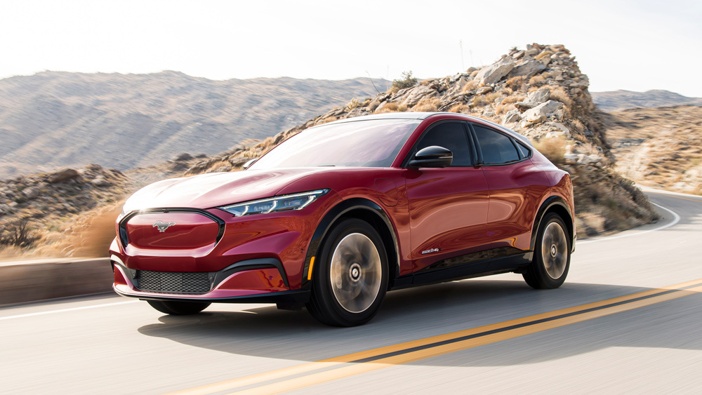 First Drive Ford S Mustang Mach E Bucks The Boring Electric Suv Image Robb Report
