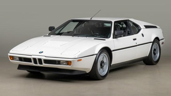 A 1980 BMW M1.