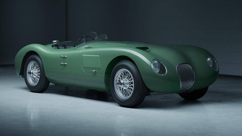 The new Jaguar C-type Continuation.