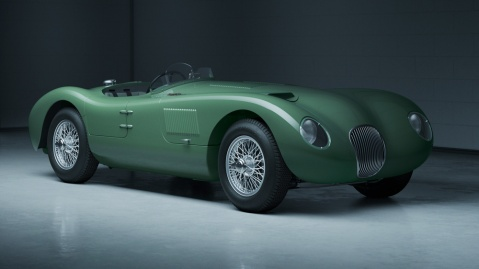 The new Jaguar C-type Continuation.