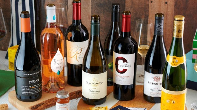 American Airlines flagship wine program