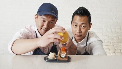 Nami Nori chefs Taka Sakaeda and Jihan Lee