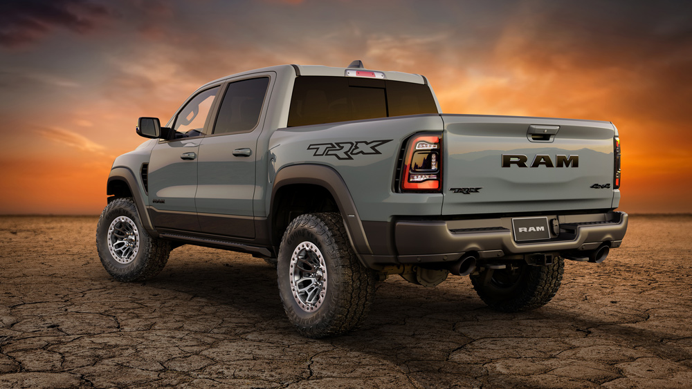 The 2021 Ram 1500 TRX Launch Edition pickup truck.