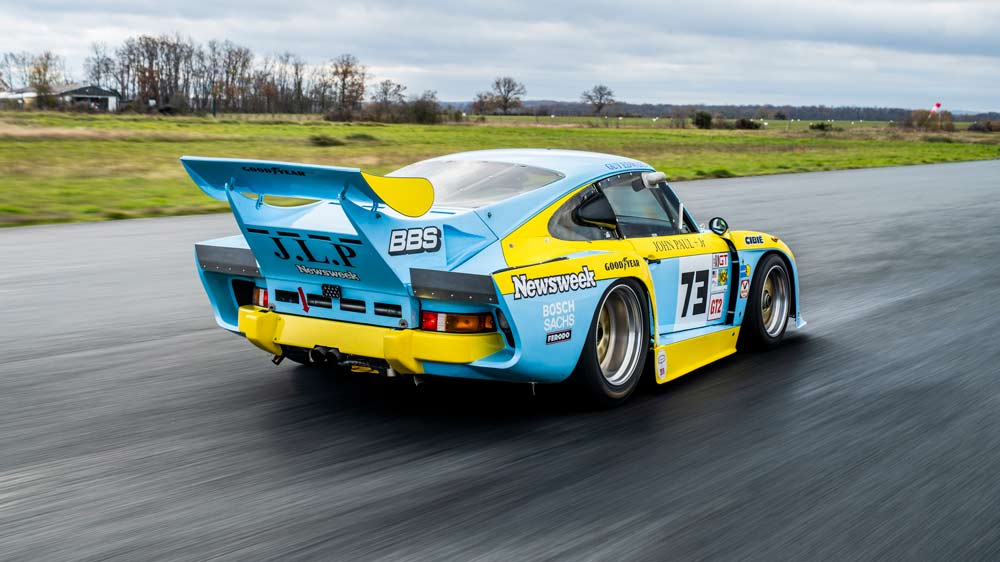 The 1980 Porsche 935 JLP-2 offered in a private sale through RM Sotheby's.