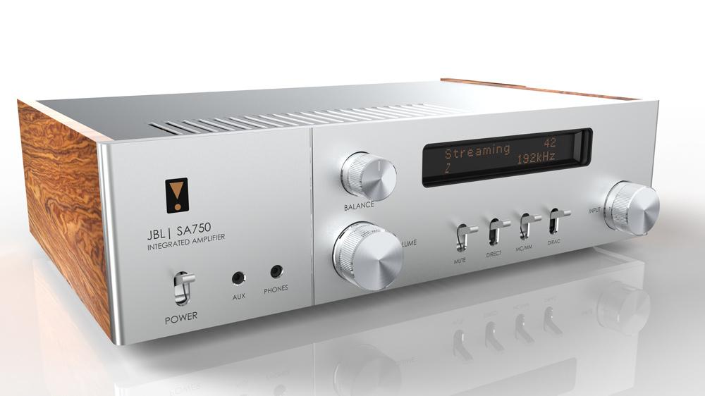 JBL's SA750 Integrated Amplifier.