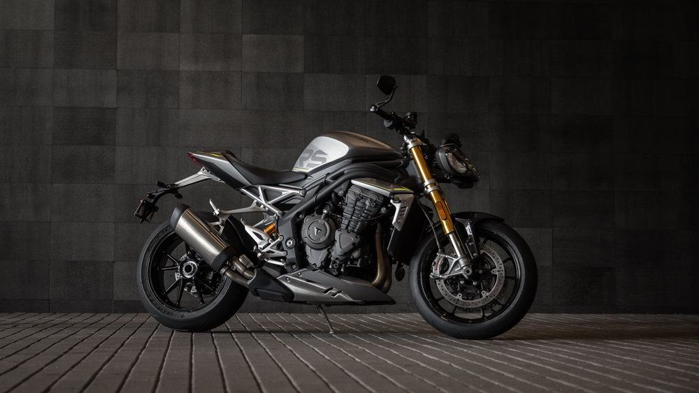 The 2021 Triumph Speed Triple 1200 RS.