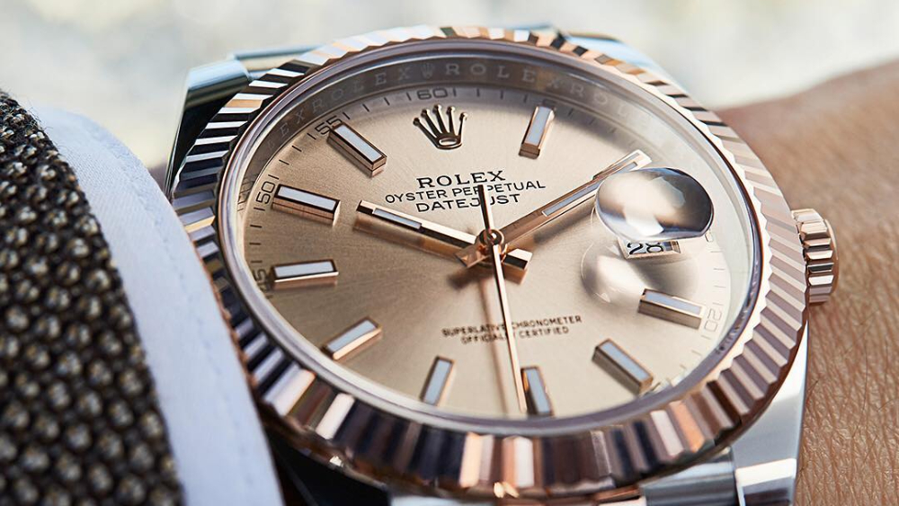 Rolex watch N. Fox Jewelers