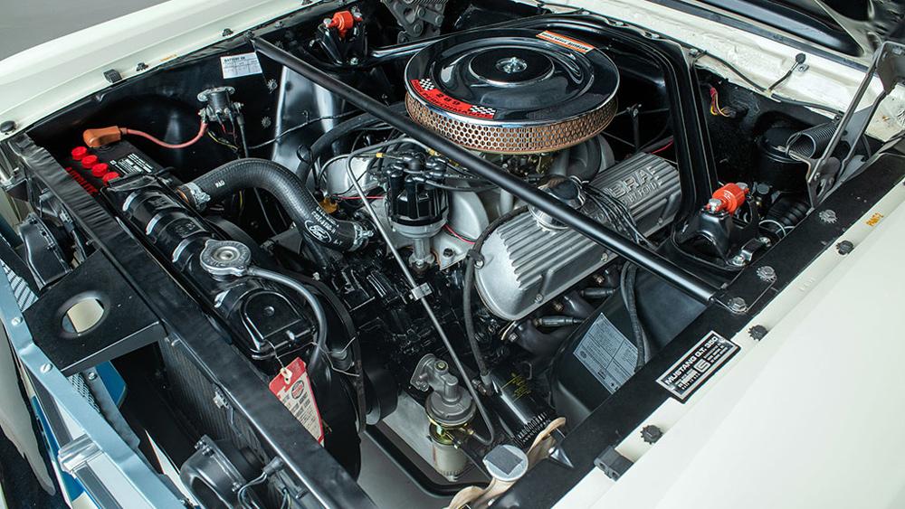 A pristine 1965 Shelby GT350.