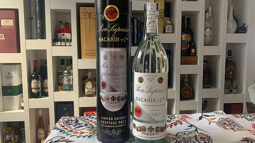 Bacardi Limited Edition Heritage Pack