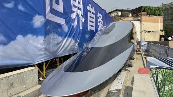 China's prototype Maglev Train
