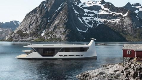 Drakkar S Smartyacht Concept