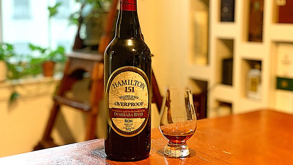 Hamilton 151 overproofed rum