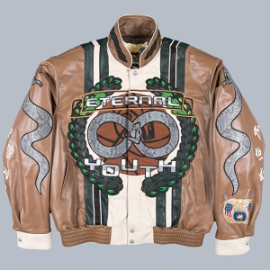 The jacket created by Advisory Board Crystals and Jeff Hamilton.