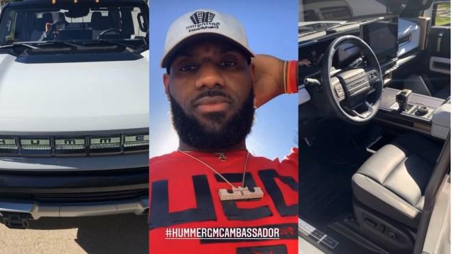 LeBron James Hummer Video