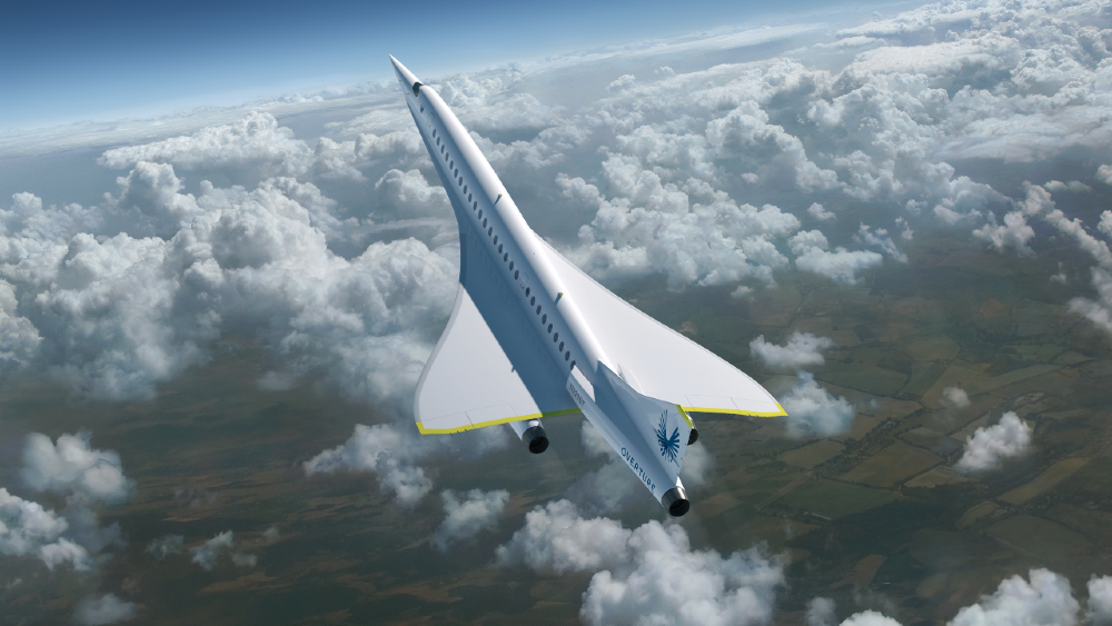 Supersonic aircraft builders recently got permission to fly over land for testing