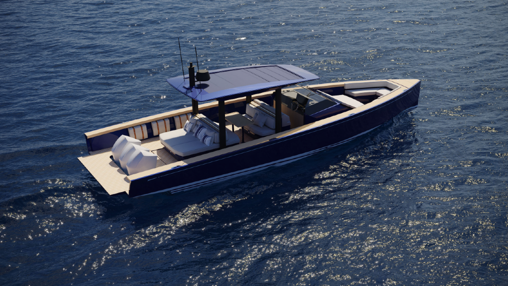 Nautor's Swan Introduces Its First Motorboat, the 40 foot Shadow