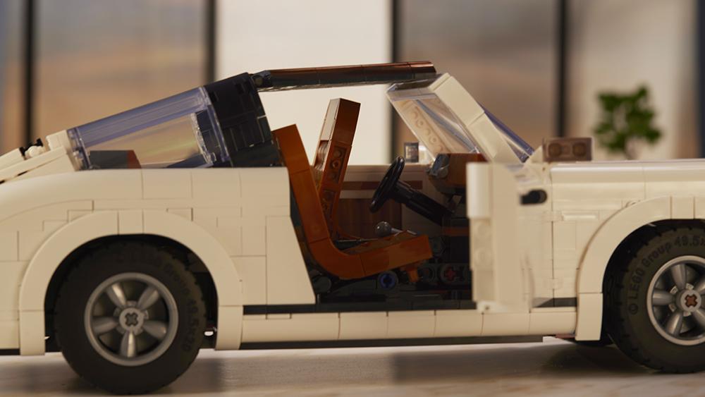 Lego Porsche 911 Turbo and 911 Targa Set