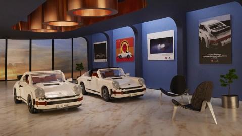 Lego Porsche 911 Turbo and Targa Set
