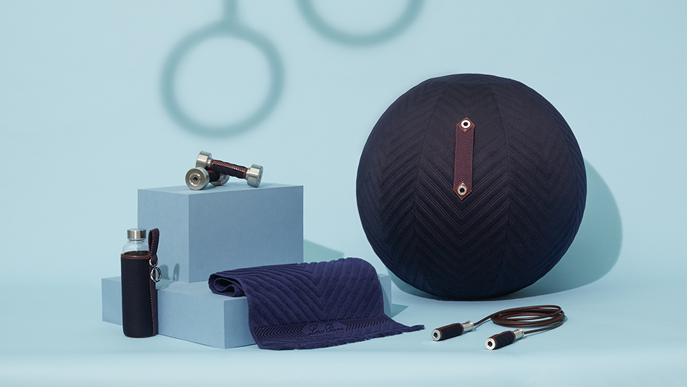 The sports gear from Loro Piana's Art of Wellbeing collection.