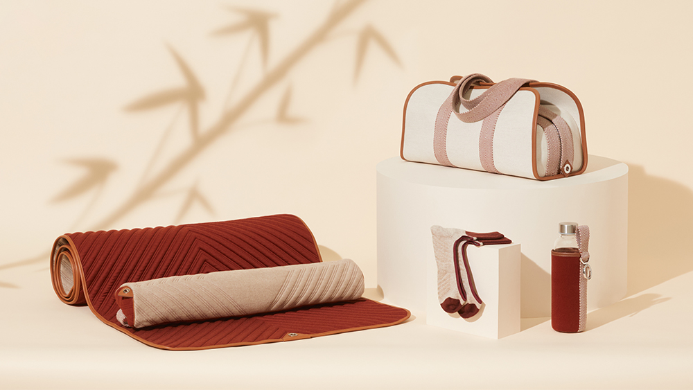 The yoga and meditation gear from Loro Piana's Art of Wellbeing collection.