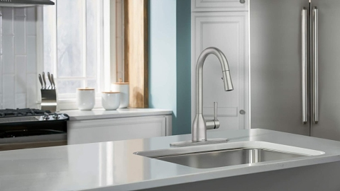 Moen One-Handle Pulldown Kitchen Faucet