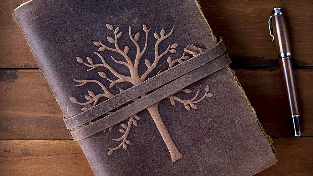 NomadCraftsCo Vintage Leather Journal