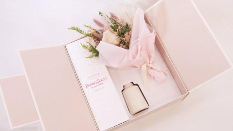 Perrier Jouet x East Olivia Gift Set