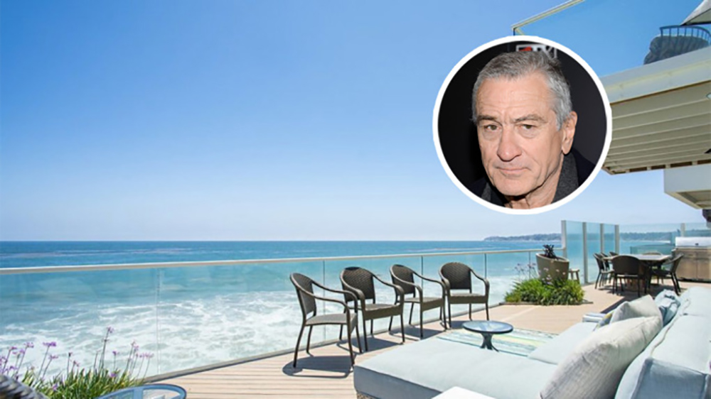 Robert De Niro's Malibu Home in Heat