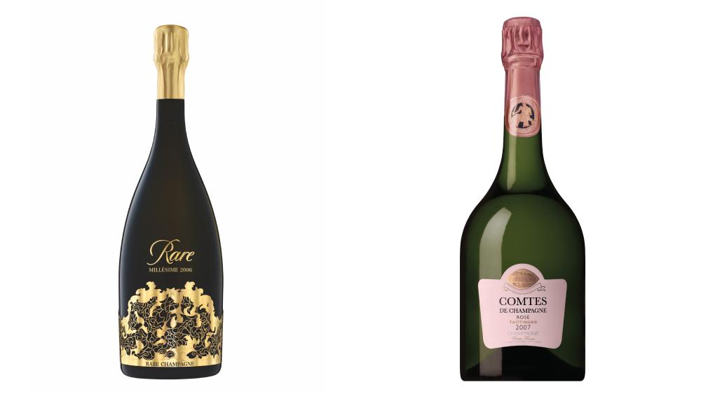 Rare Champagne Comtes de Champagne