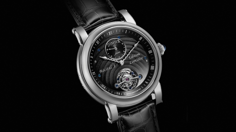 The Bovet 1833 Dimier Récital 1, limited to 50, inspired by a Bovet collector's bespoke concept