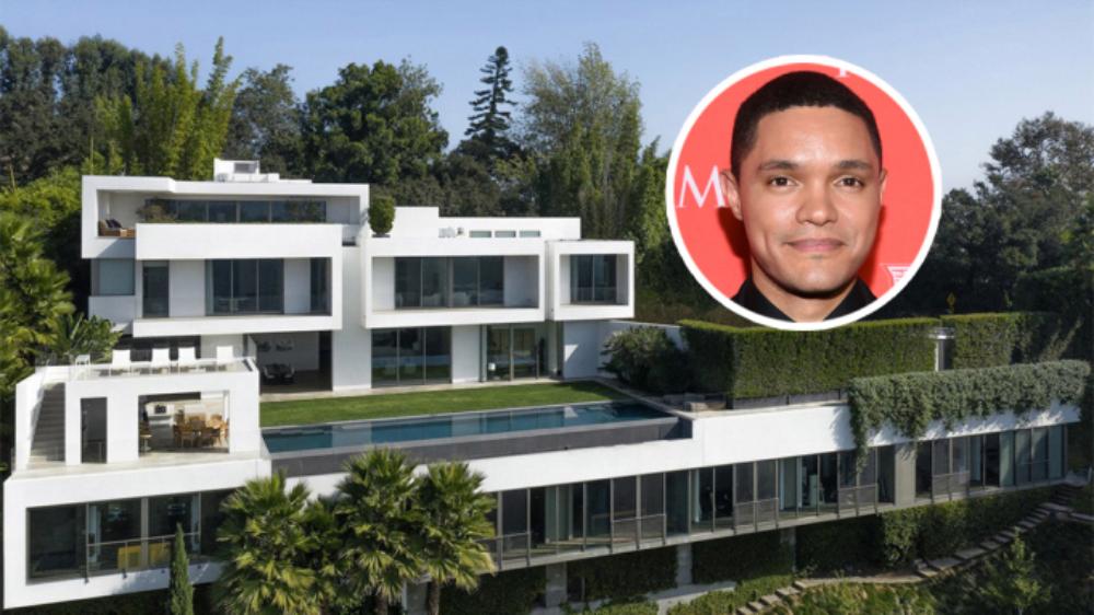 Inside Trevor Noah's $27.5 Million Modern Mansion in Bel Air