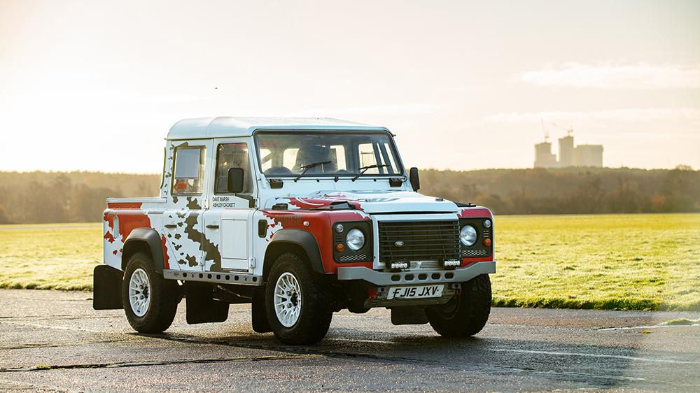 """2013 Land Rover Defender 90 Hardtop TD """"Challenge"""""""