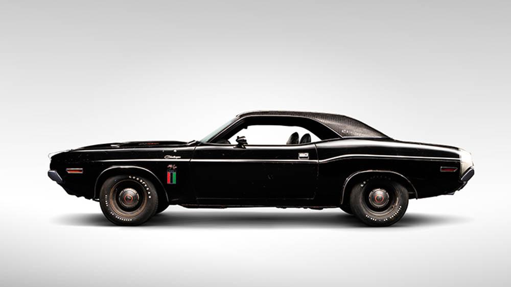 """1970 Dodger Challenger R/T SE """"Black Ghost"""""""